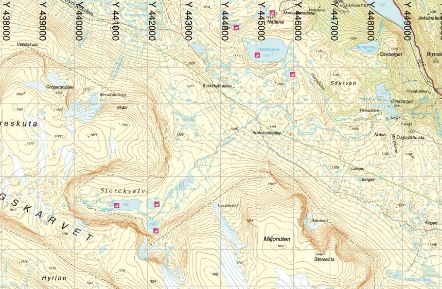kart over geilo Fisketilbud fra Geilo Jeger og Fiskerforening | Inatur.no kart over geilo