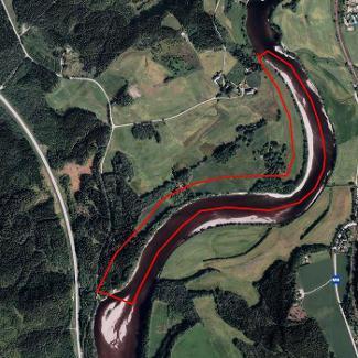 inatur kart Laksefiske i Sanddøla, Homoneset   Namsenvassdraget | Inatur.no inatur kart
